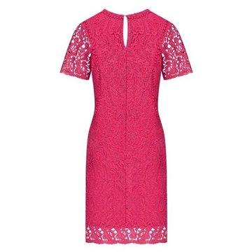 Sukienka B9SK02J0 różowa