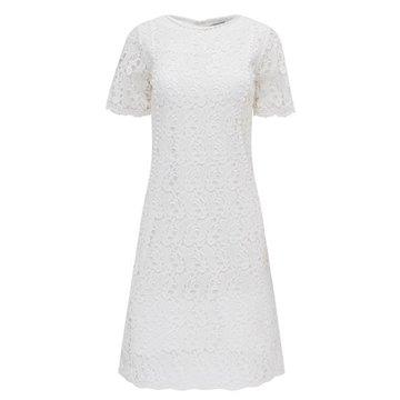 Sukienka B9SK02XO biała