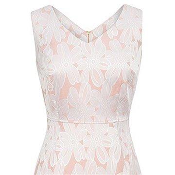 Sukienka A8SK59 różowa