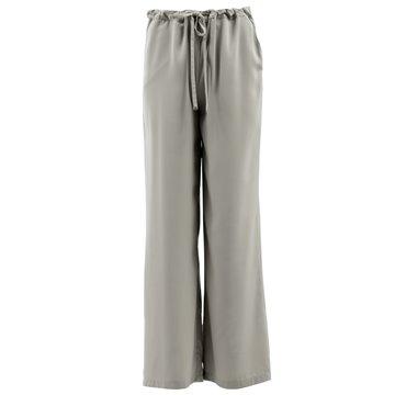 Spodnie damskie ciemny beż E5SME1