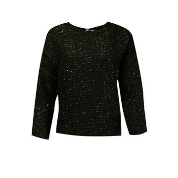 Sweter damski H7SWT1 czarny