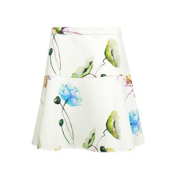 Spódnica rozkloszowana w kwiaty 37116
