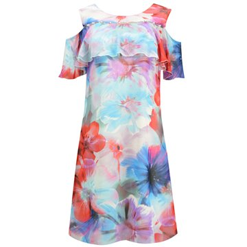 Sukienka Lena kolorowe kwiaty