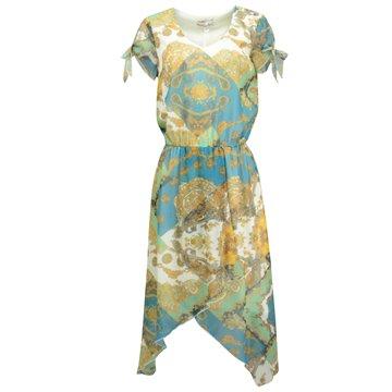 Sukienka Judii kolorowe wzory