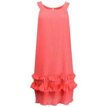 Sukienka Lidia plisa malinowa
