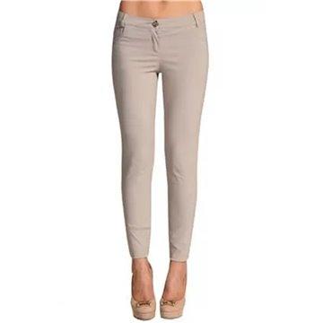 Spodnie damskie model Ermi beżowe