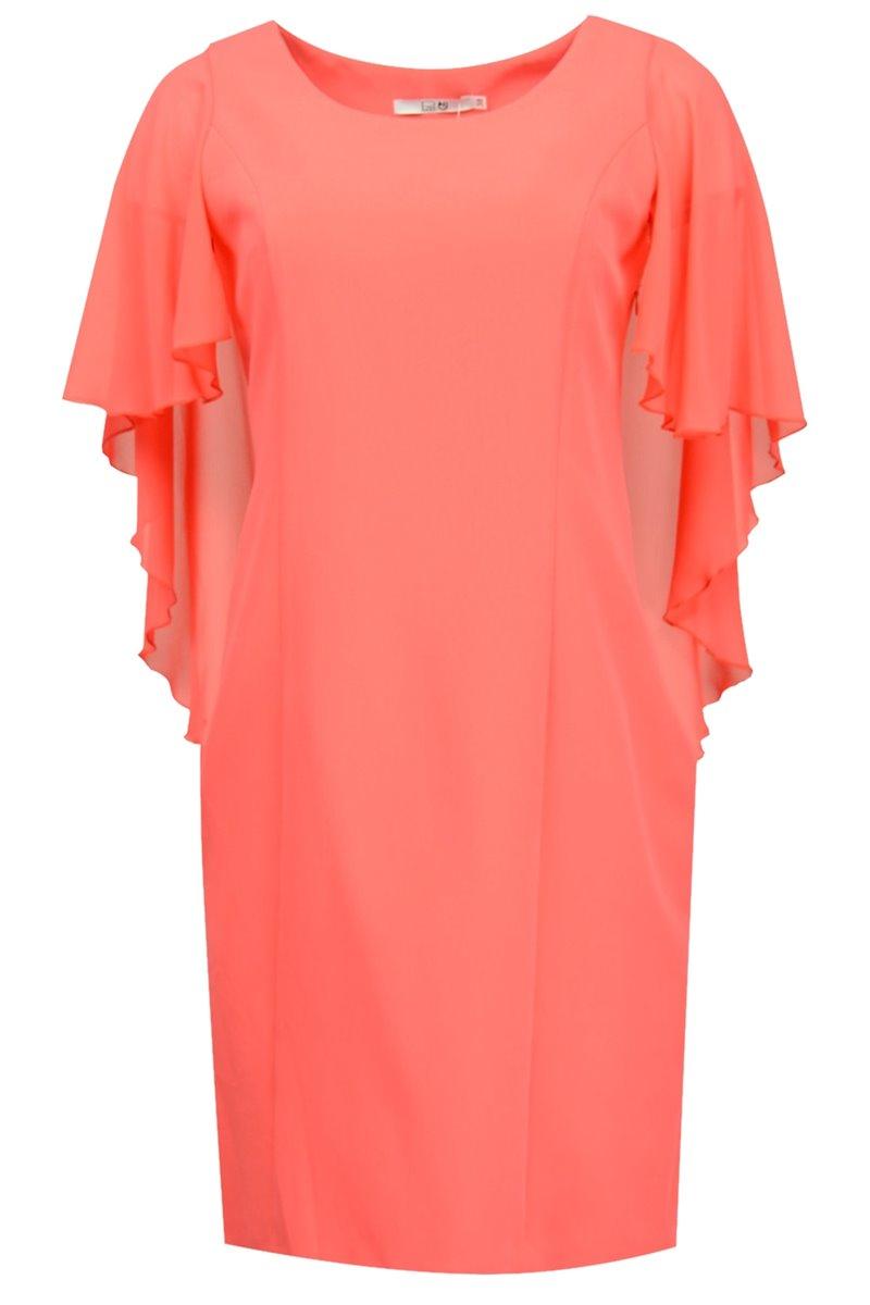 Sukienka model Tender malinowa
