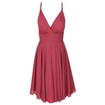 Sukienka model Nicola malinowa