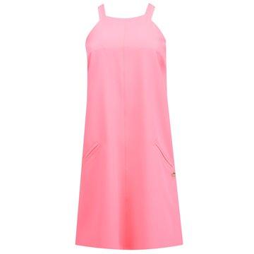 Sukienka A45/109 neonowy róz