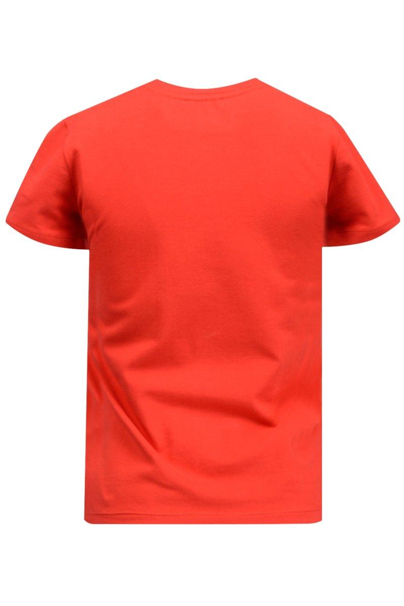 Bluzka damska 31637 czerwona