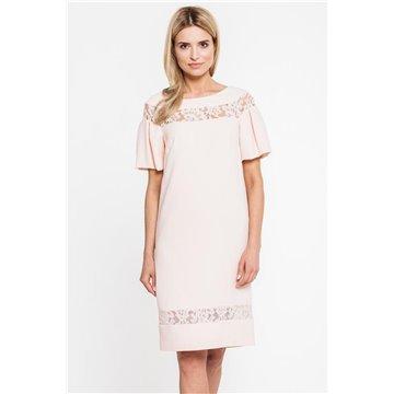 Sukienka 5074 różowa