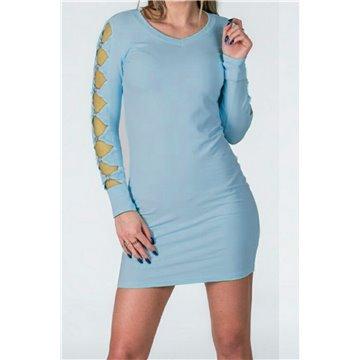 Sukienka model A35/ 15 niebieska