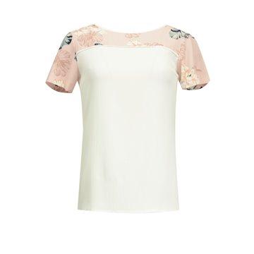 Bluzka damska kremowa