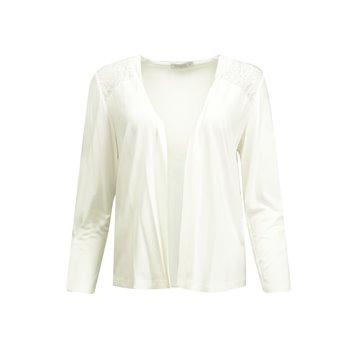 Kardigan damski biały I68-5-08