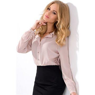 Sukienka model Erato różowo-czarna