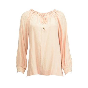 Różowa bluzka damska z wiskozy