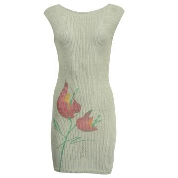 Sukienka beżowa 14323