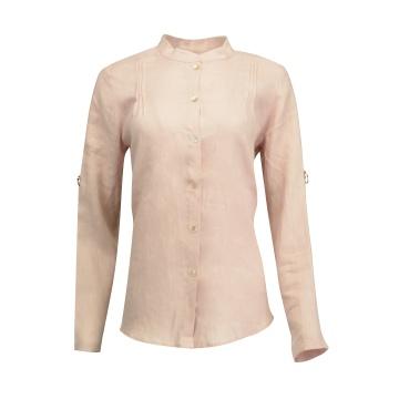 Różowa bluzka koszulowa...