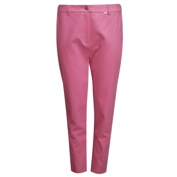 Różowe spodnie damskie...