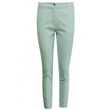 Zielone spodnie damskie...