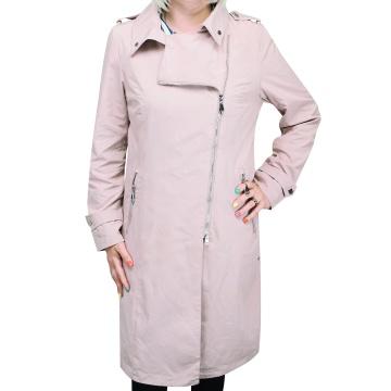 Różowy płaszcz damski Manuela