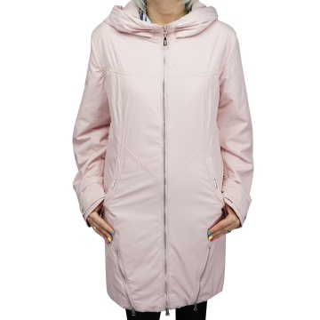 Różowa kurtka damska z...