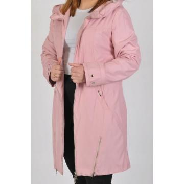 Różowy płaszcz damski Sonia