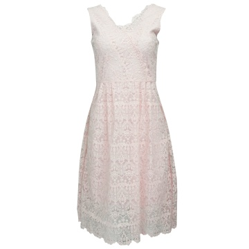 Różowa wizytowa sukienka z...