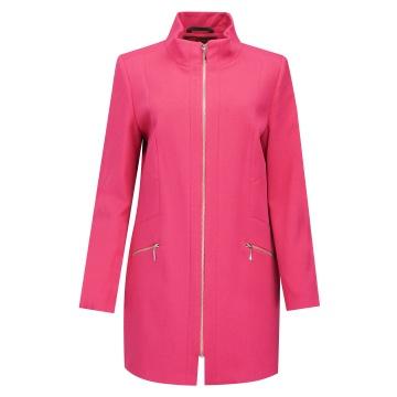 Płaszcz damski różowy,...