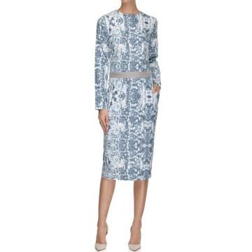 Szaro-niebieska sukienka...