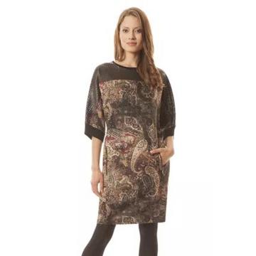 Kolorowa sukienka oversize...