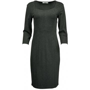 Antracytowa sukienka