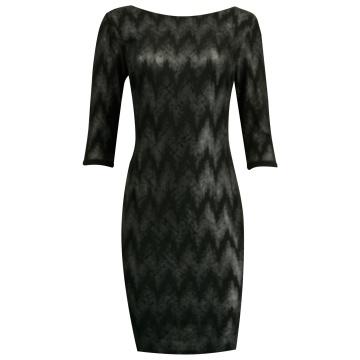 Czarna sukienka błyszcząca