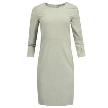 Popielata sukienka 8017