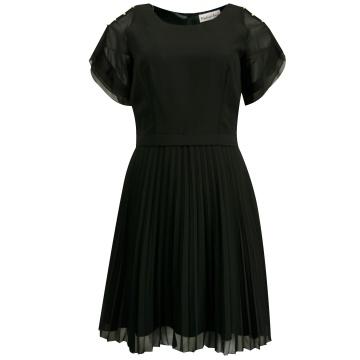 Czarna sukienka z...