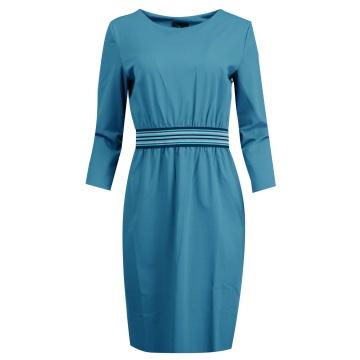 Niebieska sukienka Essida