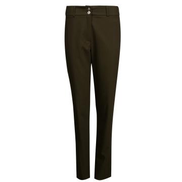 Brązowe spodnie damskie 308