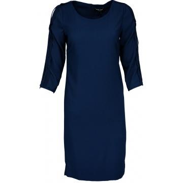 Granatowa sukienka ołówkowa...