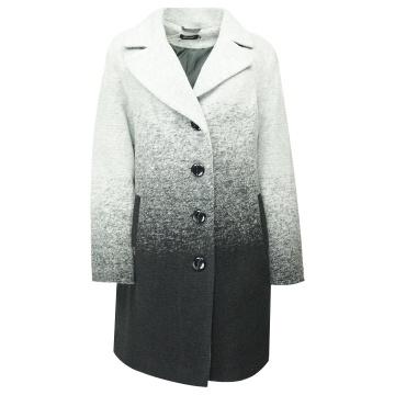 Płaszcz damski szaro-czarny...