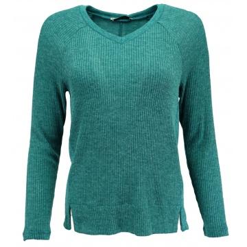 Sweter damski turkusowy...