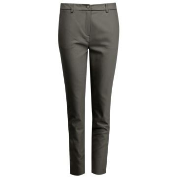 Jasno brązowe spodnie damskie