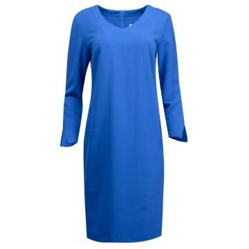 Chabrowa ołówkowa sukienka