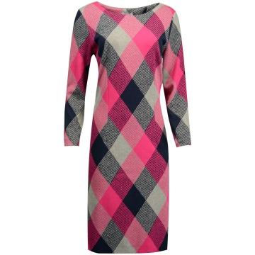 Sukienka w różową kratę...