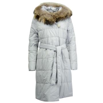 Płaszcz zimowy z kapturem z...