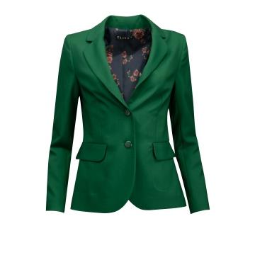 Zielony żakiet damski