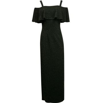 Czarna wizytowa sukienka...