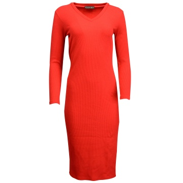 Czerwona  sukienka z...