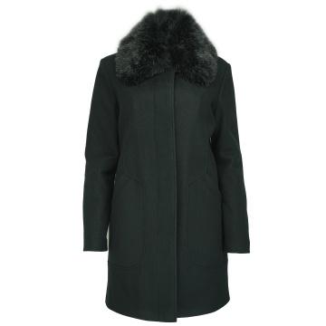 Czarny płaszcz damski...