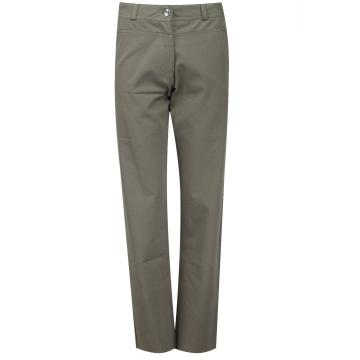 Brązowe bawełniane spodnie...