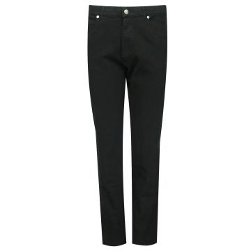 Czarne bawełniane spodnie...